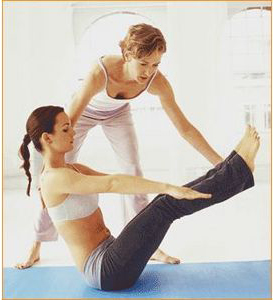 Pilates classes and instruction